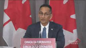 Coronavirus: Federal health officials say 'limit or no transmission' of COVID-19 in most parts of Canada