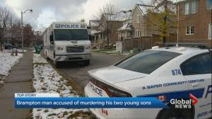 Brampton father charged with 1st-degree murder in sons' deaths