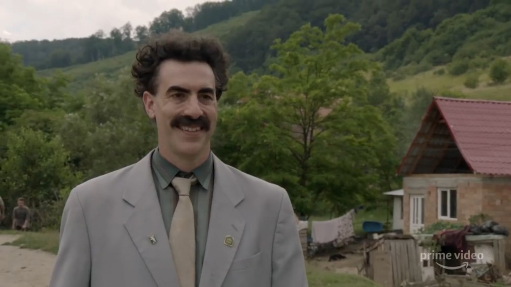 Click to play video 'Movie Trailer: Borat Subsequent Moviefilm'