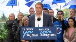 Federal Election 2019: Scheer says a vote for Bloc Quebecois is a 'vote for referendum' on Quebec sovereignty