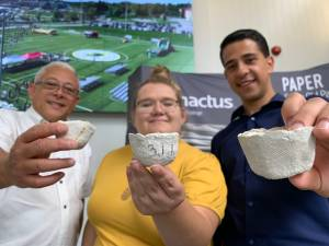 Peterborough college students create biodegradable plant pots