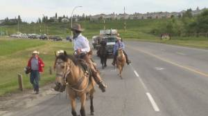 Spirits high in Calgary despite Stampede cancellation (02:03)