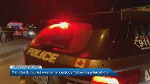 Overnight violence in Scarborough leaves man dead (02:10)