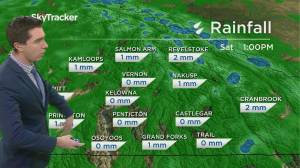 Kelowna Weather Forecast: April 29