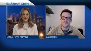 Saskatoon Opera's new executive director on new role during pandemic (04:26)