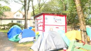 Some moved from Halifax encampments into hotel rooms told they must leave (01:46)