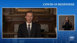 U.S. to share 25 million surplus COVID-19 vaccine doses with the world (02:30)
