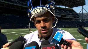 RAW: Blue Bombers Andrew Harris Interview
