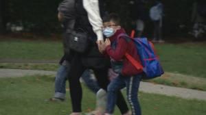 Indoor mask mandate now in effect for all B.C. school children (02:02)