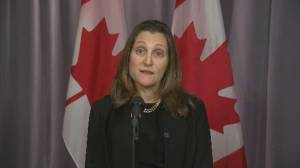 Freeland says they'll continue discussions with Pallister over Manitoba climate plan