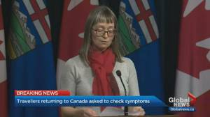 Alberta expands testing protocols as 2nd presumptive case found (02:51)