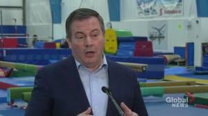 Alberta premier shuts down idea of a provincial sales tax (01:52)