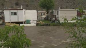 More rain expected to fall in Cache Creek today