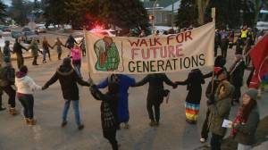 Regina rallies in solidarity while Saskatchewan stakeholders worry about blockade