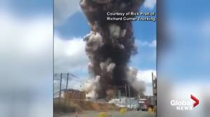 Violent explosion rocks paper mill in Maine