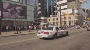 Police investigating brazen shooting outside Eaton Centre