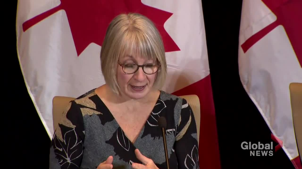 Coronavirus outbreak: Canadian Health minister says government working 'rapidly' to limit spread of virus