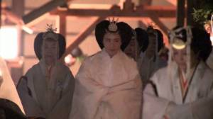 Japan monarch spends symbolic night with sun goddess to complete emperor accession