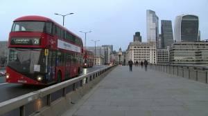 Coronavirus: London residents react as England enters new national lockdown (02:06)