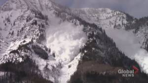 Heavy holiday snowfall prompts special avalanche warning for Rocky Mountains