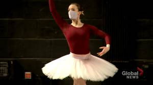 Ballet returns to the Southern Alberta Jubilee Auditorium (01:50)