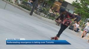 Roller skating resurgence taking over Toronto (02:10)