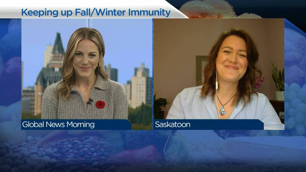 Click to play video 'Building up your immune system this winter'