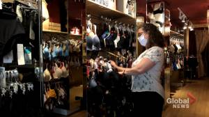 Montreal stores reopen for business but pandemic a drag on sales (02:00)
