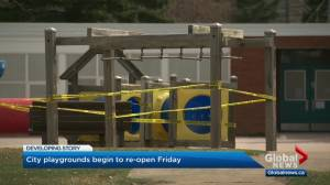 Edmonton playgrounds and zoo to reopen, paid parking coming back as relaunch continues