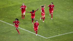 Canada's Olympic women's soccer team inspiring young Saskatchewan athletes (01:36)