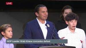 Manitoba Election: NDP's Wab Kinew concedes defeat