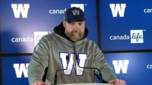 RAW: Blue Bombers Mike O'Shea Media Briefing – Oct. 22