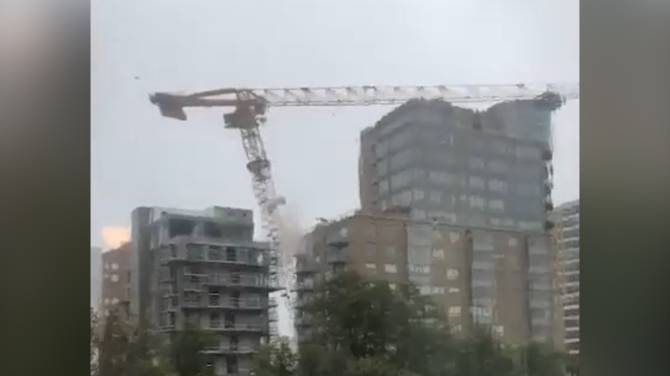 Halifax imposes traffic restrictions on area around downed crane