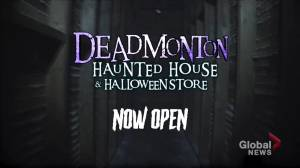 Deadmonton Haunted House adds more scares (03:59)