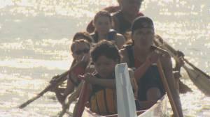 Musqueam Nation's canoe racing dynasty (01:54)