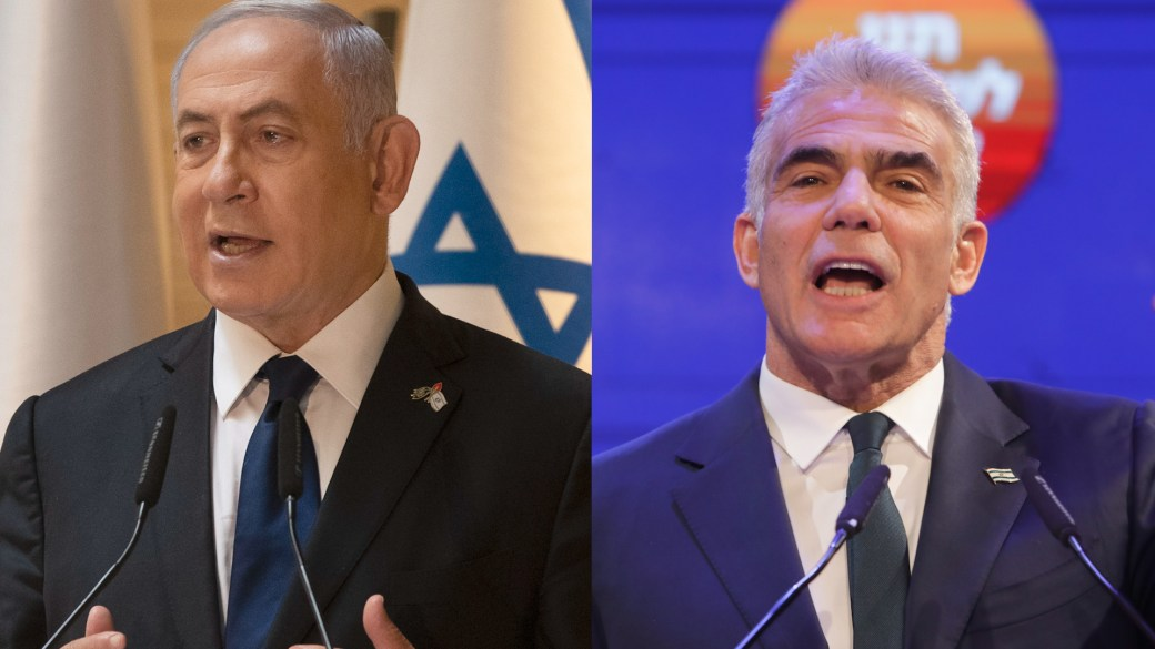 Click to play video: 'Netanyahu rival tapped to try to form Israel government as PM struggles to retain power'