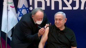 Coronavirus: Israel PM Benjamin Netanyahu becomes latest world leader to get vaccine (02:41)