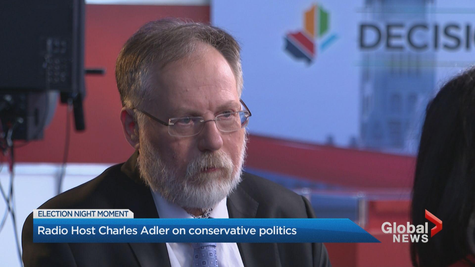 Radio host Charles Adler on conservative politics