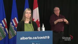 Alberta records 50 new cases of the U.K. COVID-19 variant (02:44)