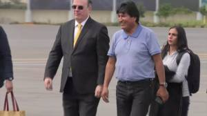 Bolivia's Morales arrives in Mexico after being granted asylum