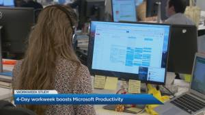 4-day work week boosts Microsoft employee productivity