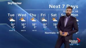 Edmonton Weather Forecast: Sept. 16