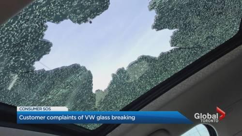Consumer SOS: Volkswagen denies fault after glass breakages | Watch News Videos Online