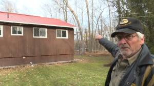 A senior couple from Frankford say a solar panel company has destroyed their home (02:26)
