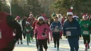 Edmontonians lacing up for annual Santa Shuffle fun run and elf walk