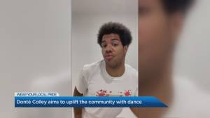 Toronto's Donté Colley aims to uplift community with dance (04:06)