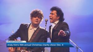 Andy Kim's annual Christmas Charity show