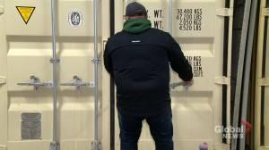 Saskatchewan Huskies equipment manager providing steady hand during displaced season (02:02)