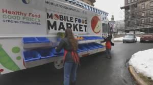 Mobile Food Market gets new market vehicle (05:55)