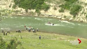 Day 2 of search efforts continue for missing 17-year-old in St. Mary River